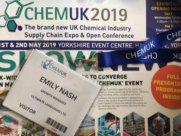 ChemUK 2019
