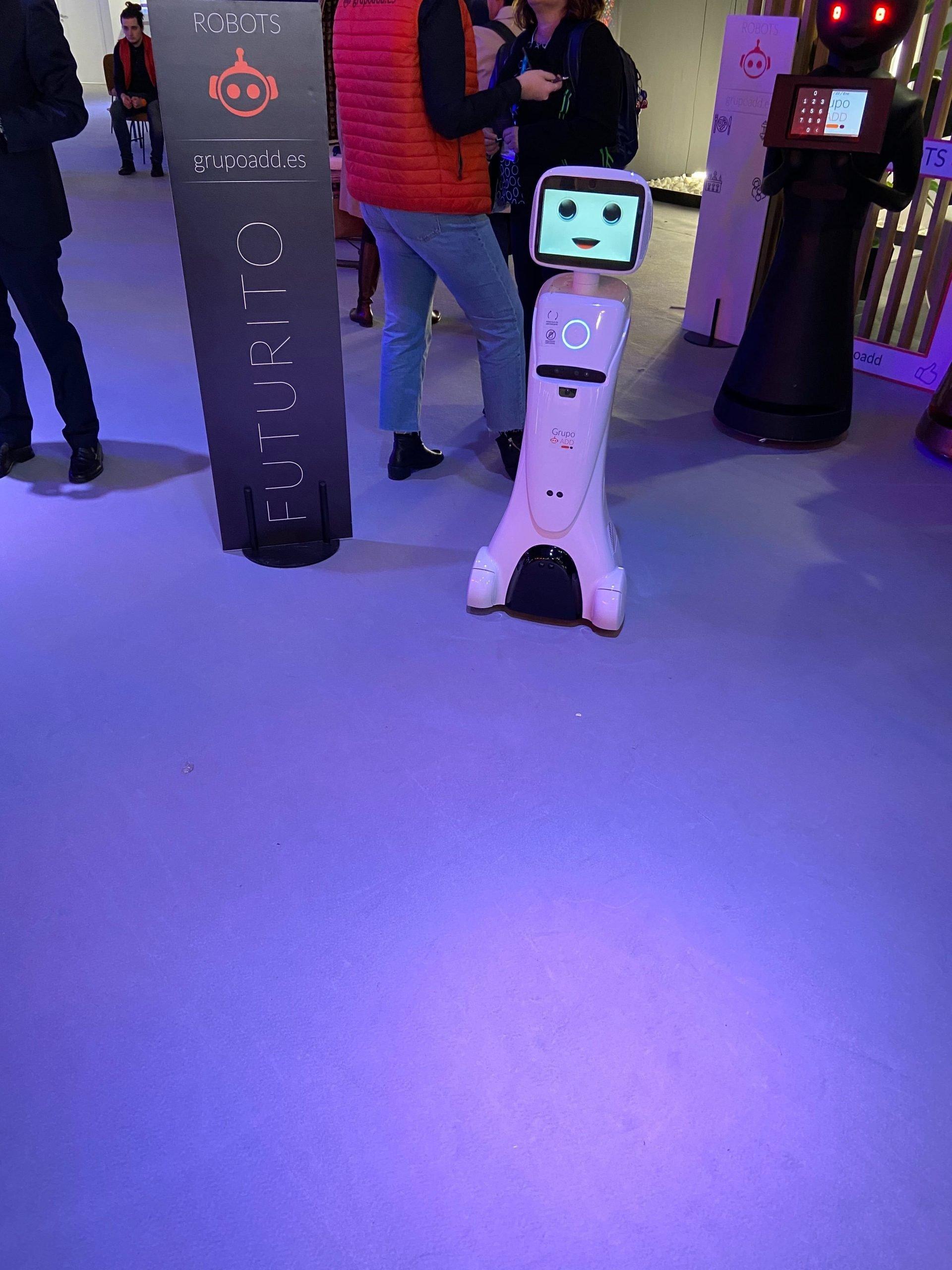 FITUR 2020-Interactive demo-robots