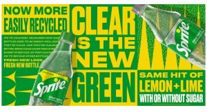 Sprites 'Clear is the new Green' campaign