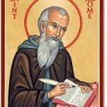 Saint Jerome via Monastery Icons